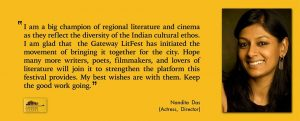 nandita das for gateway litfest