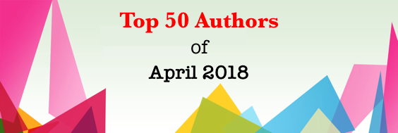 Top 50 Authors of April 2018(2)
