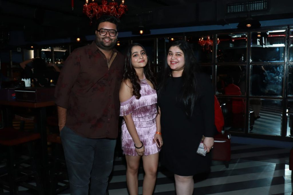 Director Abhishek Saxena, Actress Kristina Patel and Ambika Sharma of Colours TV